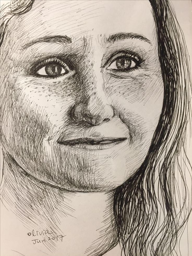#pendrawing #portrait
