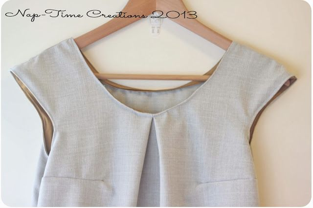 Free Dress Pattern {from a tank} |www.nap-timecreations.com