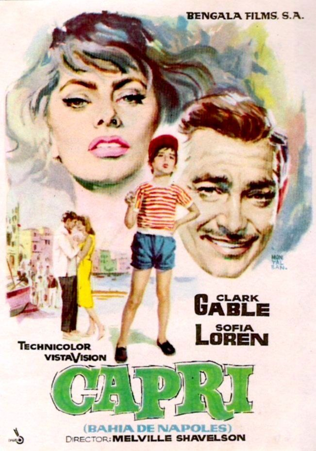 "Capri (1960) ""It Started in Naples"" de Melville Shavelson - tt0053957"