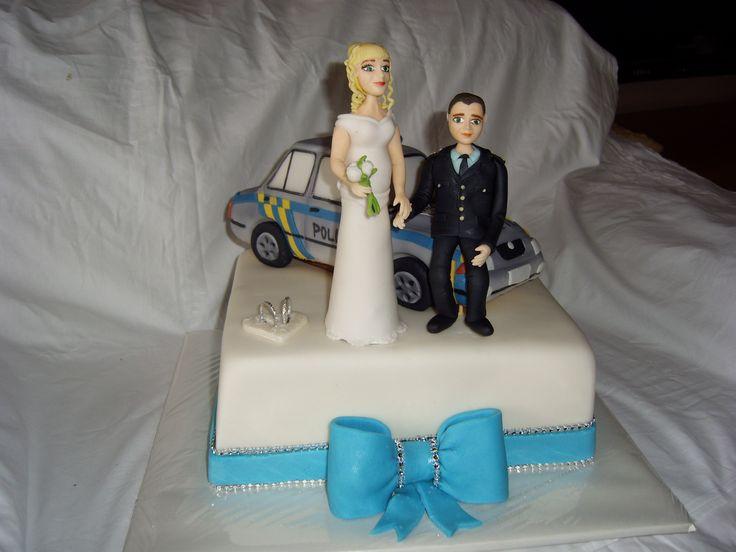 svatební dort,