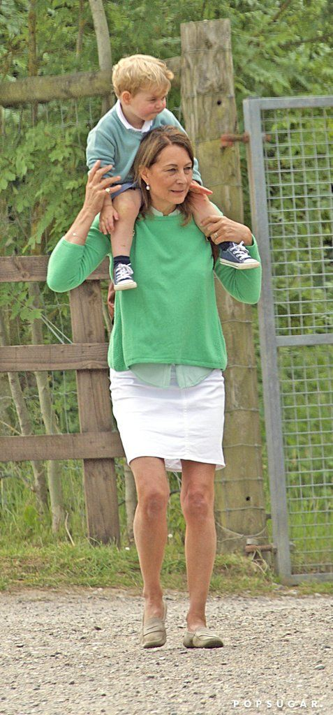 Prince George Spends a Sweet Day With His Grandma Carole Middleton!