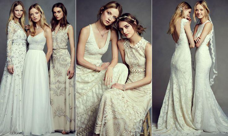 Свадебные богемные платья