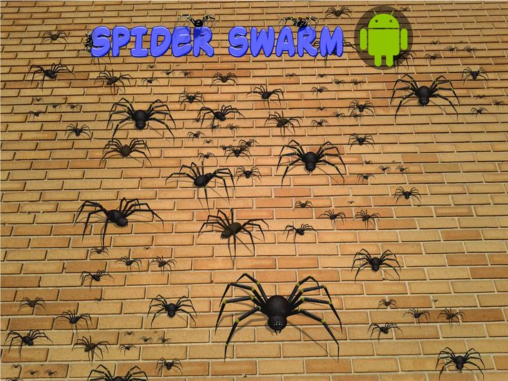 Android game - Spider Swarm.  https://play.google.com/store/apps/details?id=com.sqwheres.spiders