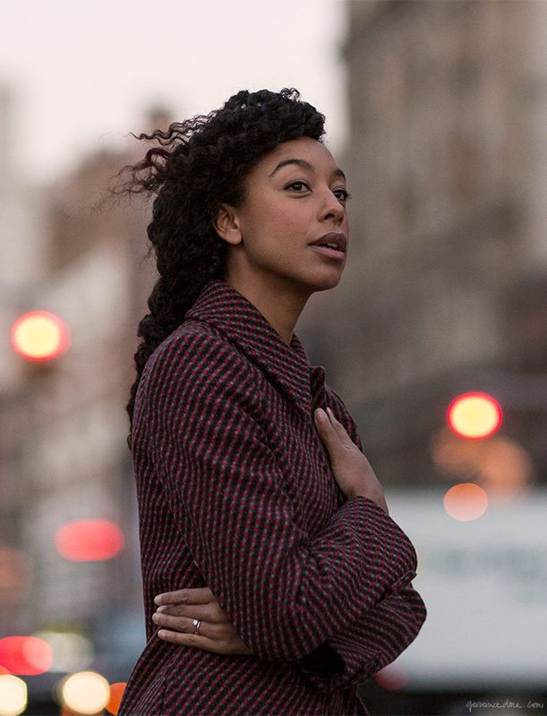 I love in deep measure A.B.xoCorinne Bailey Rae, New York City, street style / Garance Doré