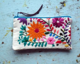 SALE Bohemian Embroidered Handbag Bonita Lolita by EricaMaree