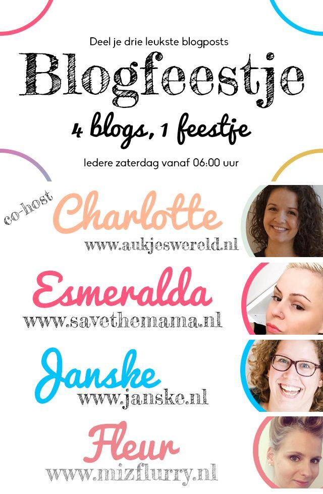 Kom gezellig langs op ons 22e blogfeestje van 2017. Bekijk onze vier favorieten en voeg zelf drie links toe.