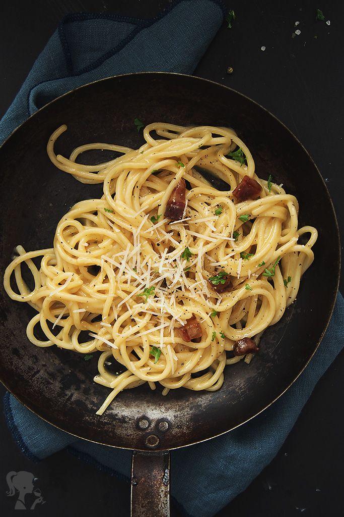 Špagety Carbonara / Spaghetti Carbonara