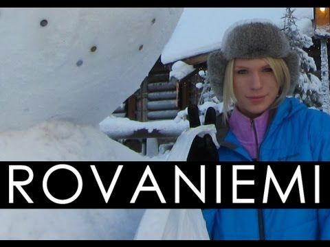 Arctic Circle Adventure - Rovaniemi, Finland - YouTube