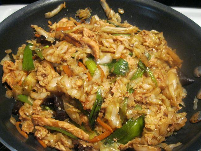 Moo Shu Chicken | Asian | Pinterest