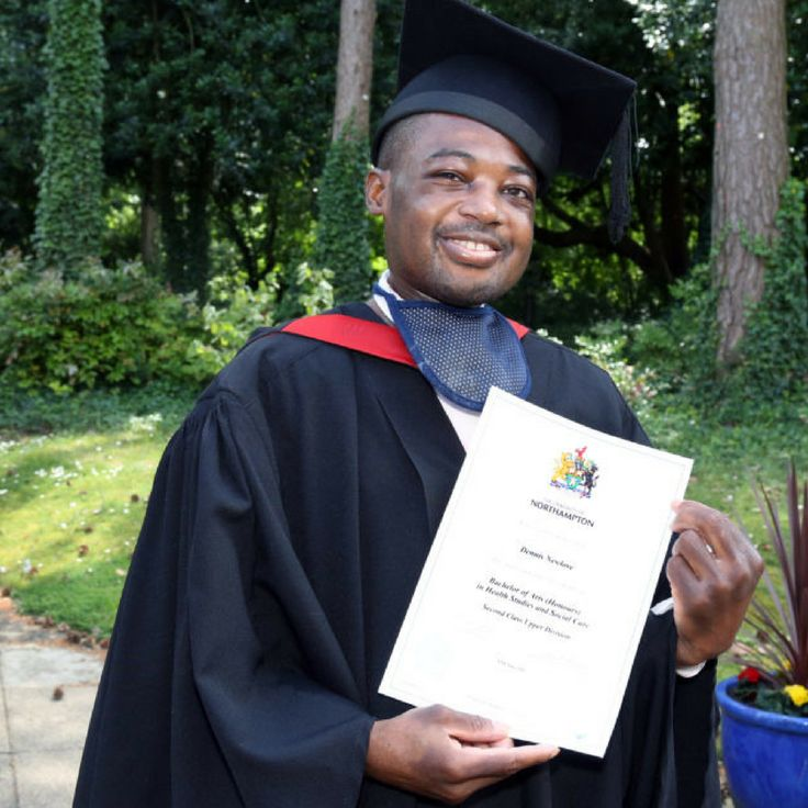 Lecturer pays tribute to determined graduate Dennis