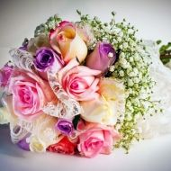 Heavenly Glee Bridal Bouquet from Bunches Direct