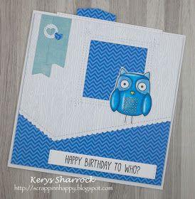 #mftstamps #forowlyoudo #card #slider #birthday #owl