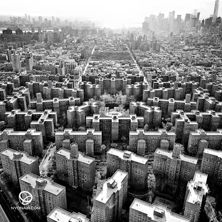 Stuyvesant Town and Peter Cooper Village in Manhattan, New York City, USA