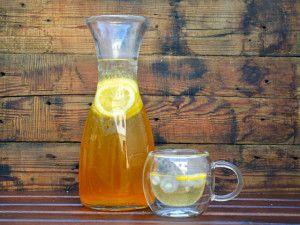 Gyömbéres házi jeges tea