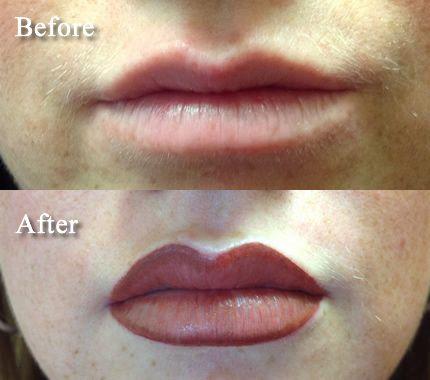 Skin Deep Permanent Cosmetics of Atlanta GA - Permanent Lip Color Makeup Micro Pigmentation Cosmetic Tattoo