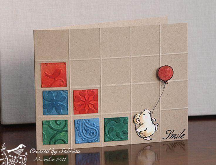 scoring a grid - love this idea!