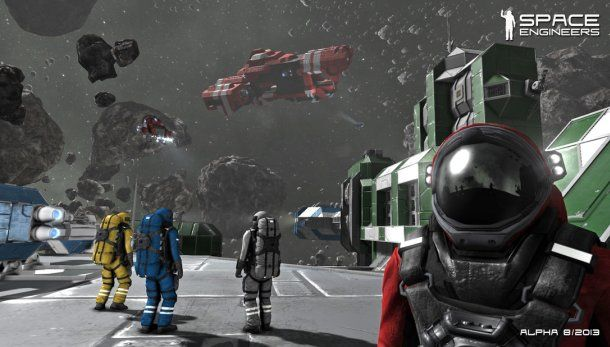 Looks interesting ... Space Engineers is a physics sandbox about creation and destruction | News | PC Gamer