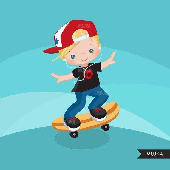 Woman Falling From Skateboard Cartoons Vector Fall Cartoon