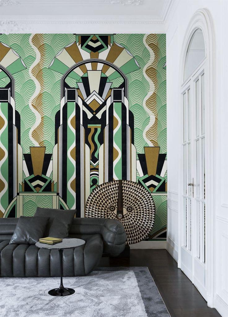 LondonArt Deco Jungle Modern Interior