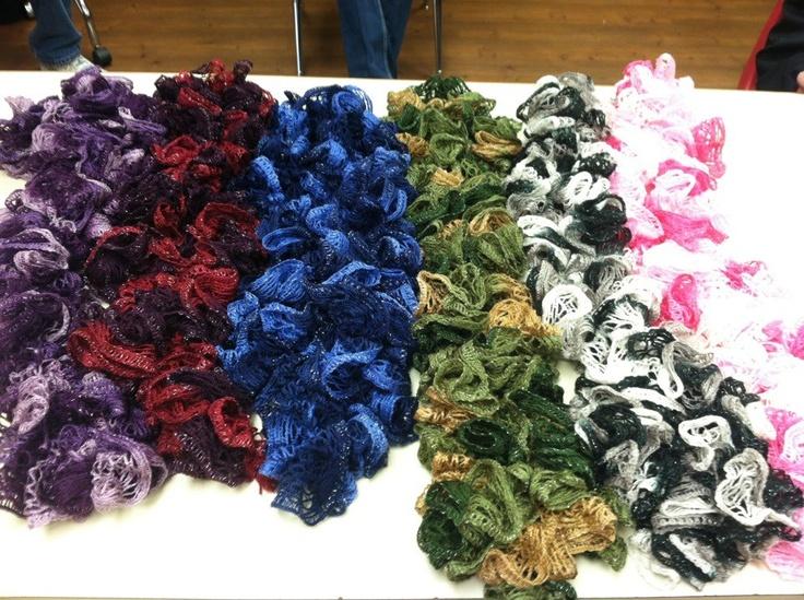 29 best Crochet ~ Sashay Yarn images on Pinterest   Crochet ruffle ...