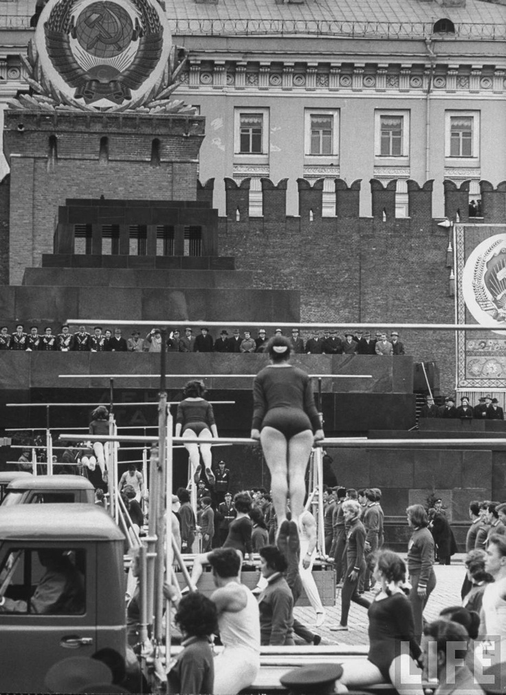 May, 1 celebrations, Moscow, 1961
