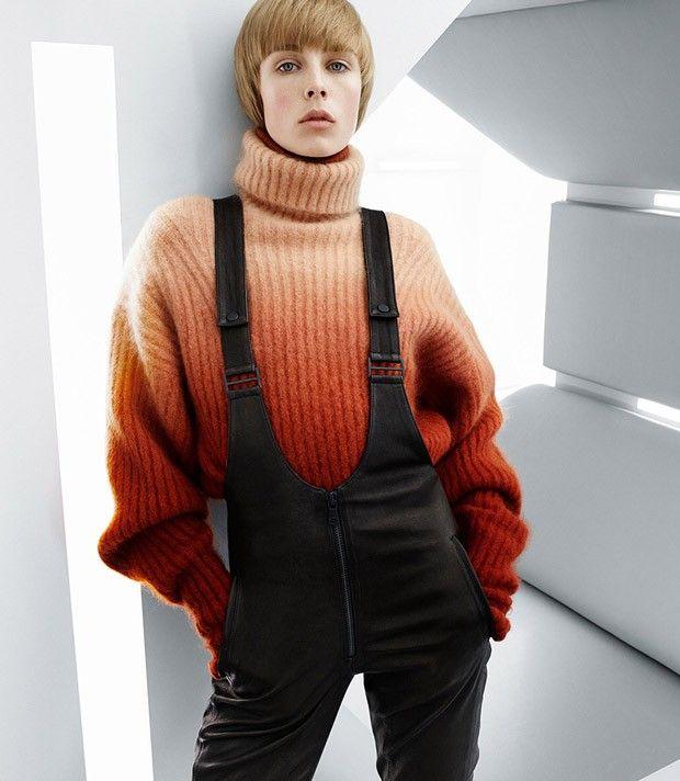 artofashion:  Edie Campbell by Daniel Jackson for H&M Studio Fall/Winter 2015
