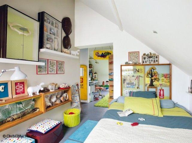 Chambre enfant combles  KIDS ROOM  Pinterest