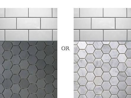hexagon wall tiles - Google Search
