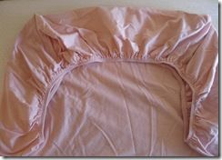 Fitted Crib Sheet Completed Corners