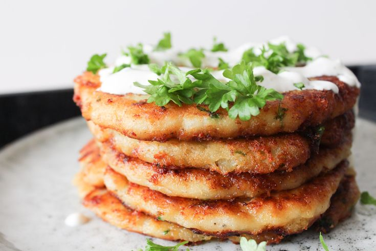 Potato and cheese pancakes! Recipe and how to video!