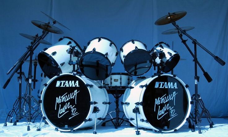 Lars Ulrich Drum Set | Estos eran bateristas. . . Los mejores solos y baterias!