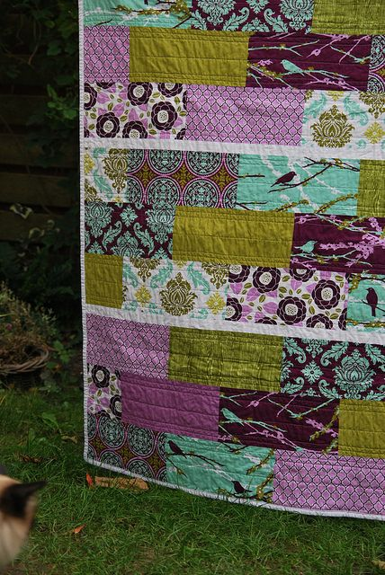 different take on a strip quilt