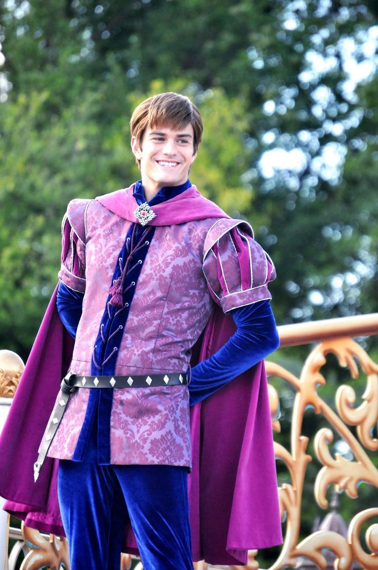 Prince Phillip is the love interest of Princess Aurora. He looks so charming in this photo