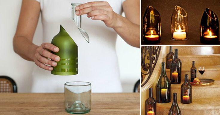 Sklenené fľaše nemusíte hneď vyhadzovať. S týmto tipom, ako ich rozrezať môžete fľaše využiť na rôzne spôsoby. Videonávod je jednoduchý a na konci nájdete inšpirácie na kreatívne využitie rozrezaných fliaš.