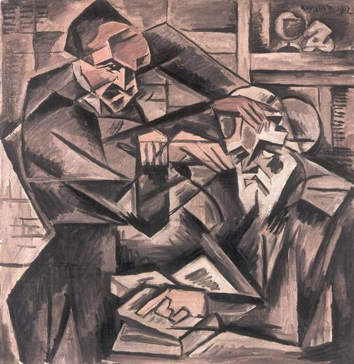 Hypnotisér - Bohumil Kubišta | ARTMUSEUM.CZ