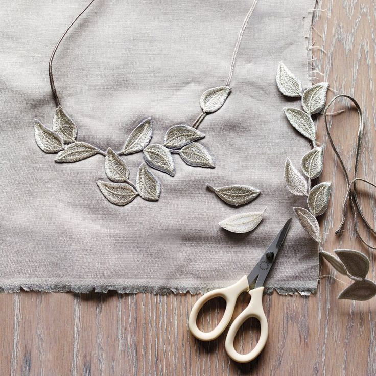 Great tips on making jewelry using ribbon and other trim