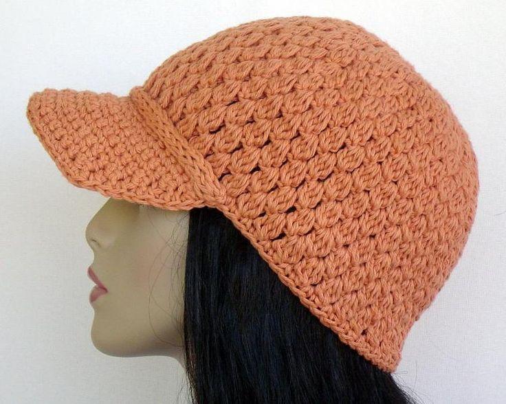 Baseball Cap Hat Crochet Patterns Free