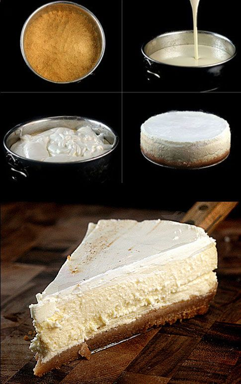 Skinny Cheesecake. It's so super creamy and rich, you'd never know it was only 245 calories a slice!