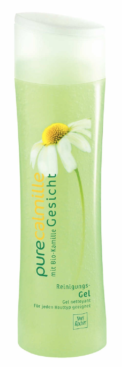Yves Rocher's Pure Calmille Deep Cleansing Gel. Gel Nettoyant Pure Calmille d'Yves Rocher.