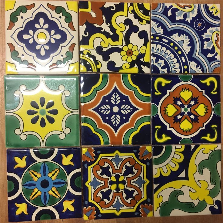 Sunshine radiates from these beautiful handmade ceramic tiles. Available throughout Australia, New Zealand and around the world from www.oldworldtiles.com.au