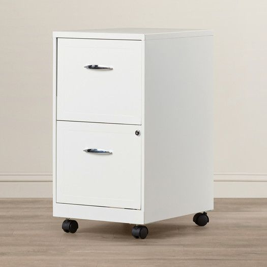 $73   Zipcode™ Design Gigi 2 Drawer Mobile File Cabinet