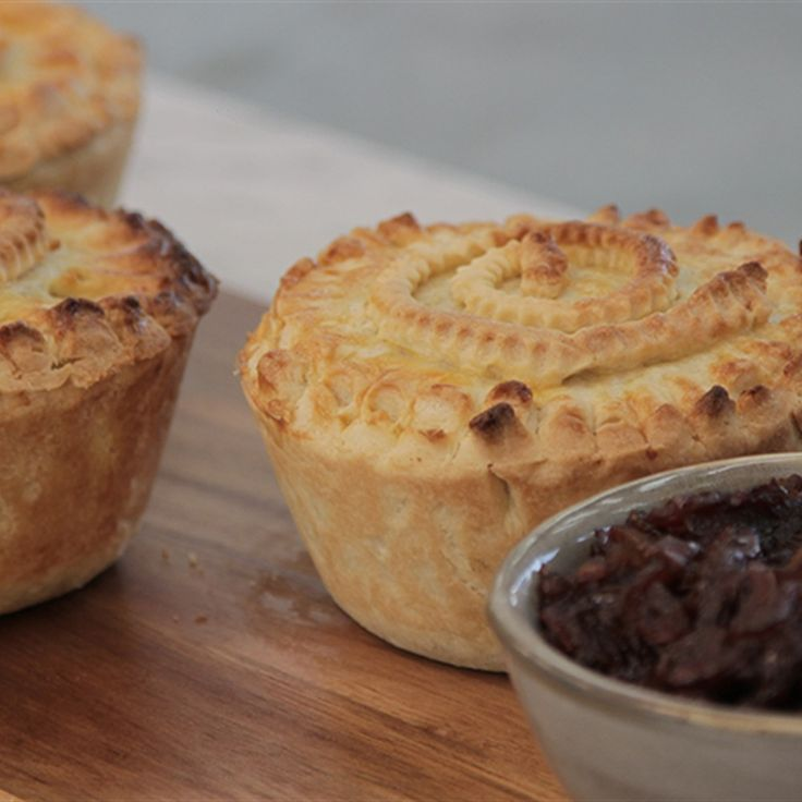 Try this Perfect Trio Pies recipe by Chef Suzy. This recipe is from the show The Great Australian Bake Off.