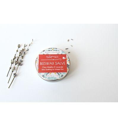 soma beeswax salve with chios mastiha lavender