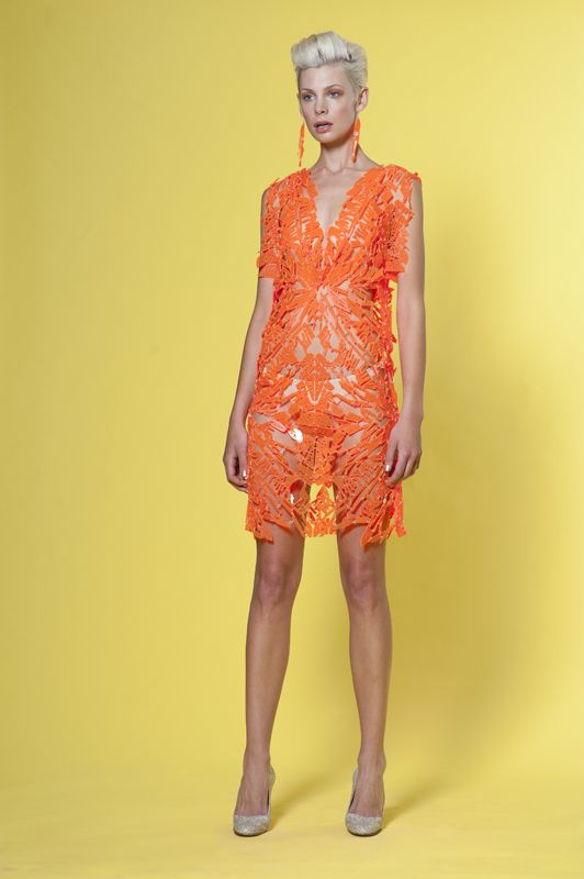Relic Dress. Part of Spring Summer 2012/2013 collab. Viewable upon request.