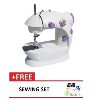 Buy 4 in 1 Dual Speed Portable Handheld Mini Sewing Machine (Purple) FREE Sewing Set online at Lazada. Discount prices and promotional sale on all. Free Shipping.