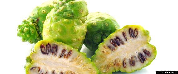 The Noni fruit in juice form is a popular natural remedy in the Caribbean. Description from huffingtonpost.ca. I searched for this on bing.com/images