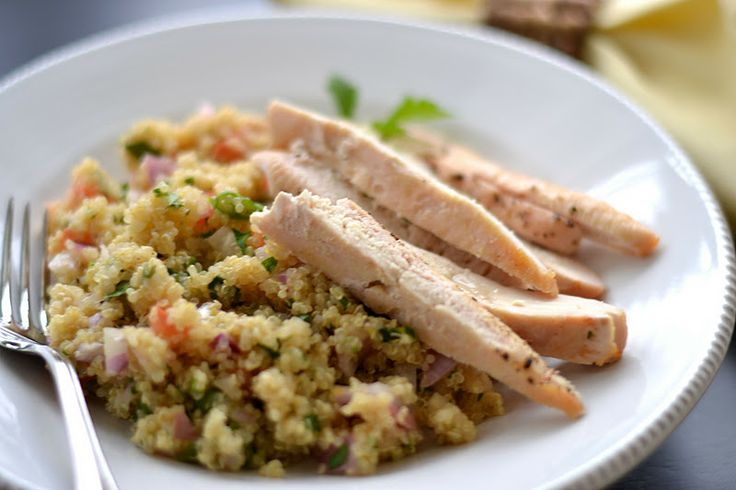 Chef Recomended chicken and quinoa salad