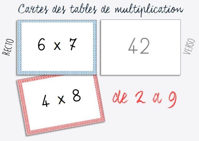 Les 326 meilleures images du tableau multiplication sur - Jeux de table de multiplication 1 2 3 4 5 ...
