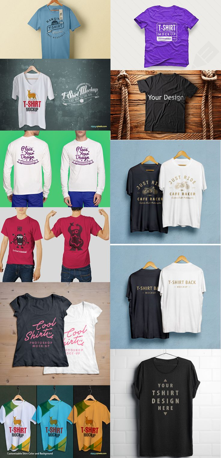 Design your own t shirt free download - 16 Free T Shirt Mock Up Templates September 2015 Edition