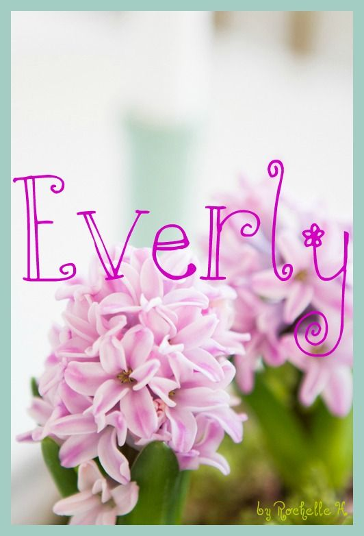 Baby Girl Name: Everly. Meaning: From Ever's Meadow. Origin: Old English. http://www.pinterest.com/vintagedaydream/baby-names/